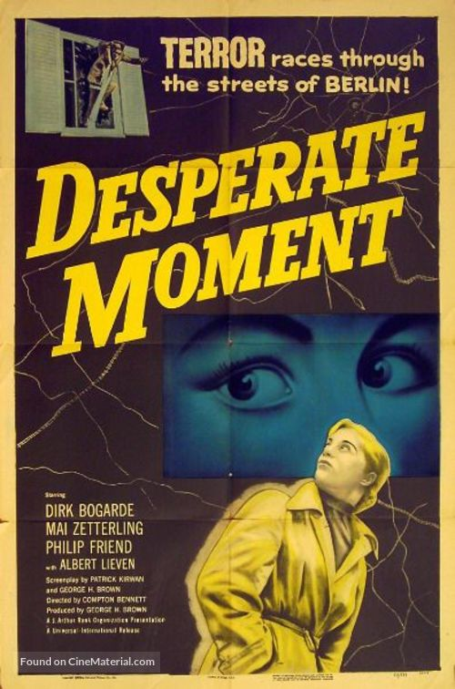 Desperate Moment - Movie Poster