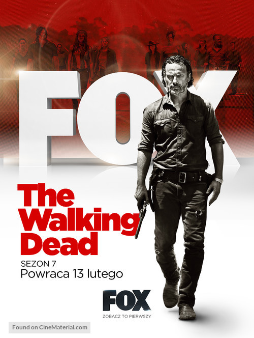 """The Walking Dead"" - Polish Movie Poster"