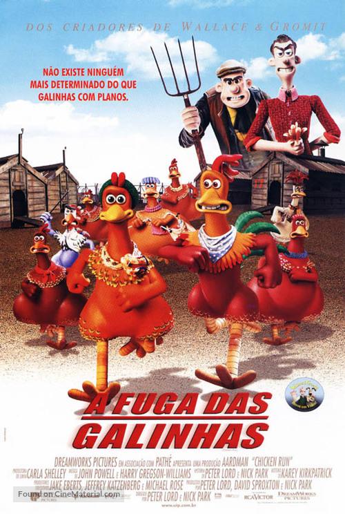 Chicken Run - Brazilian Movie Poster