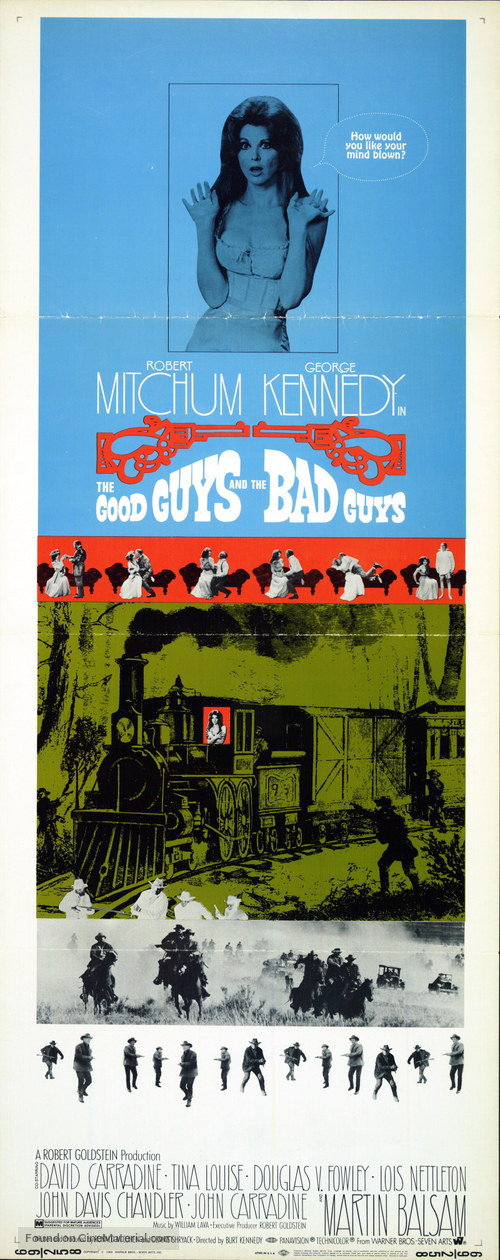 The Good Guys and the Bad Guys - Movie Poster