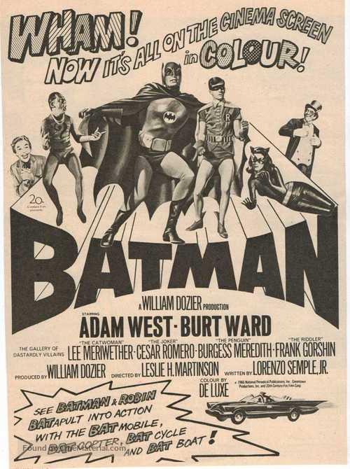 Batman - British Movie Poster