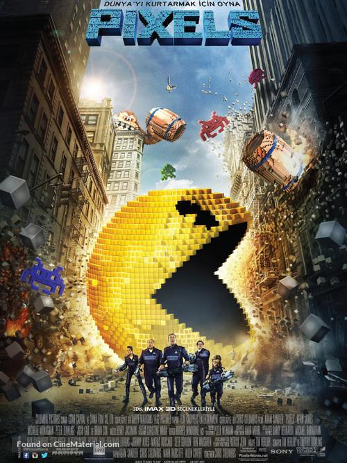 Pixels - Turkish Movie Poster