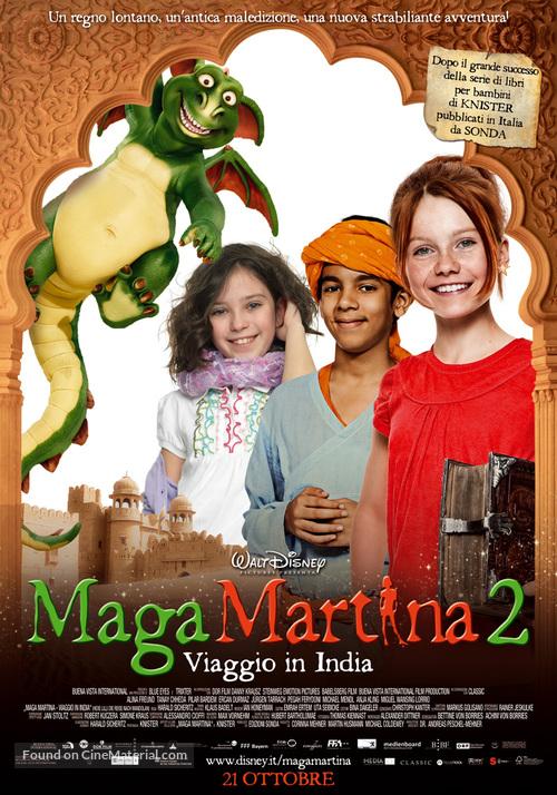Hexe Lilli - Die Reise nach Mandolan - Italian Movie Poster