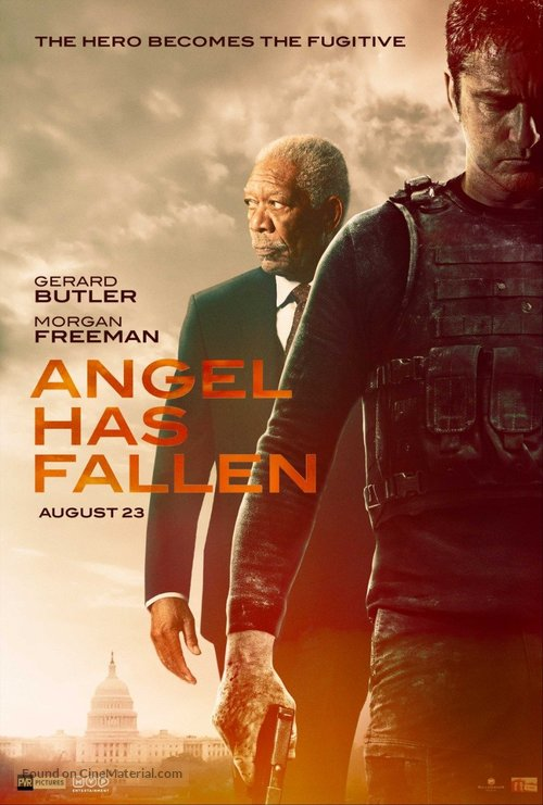 Angel Has Fallen - Indian Movie Poster