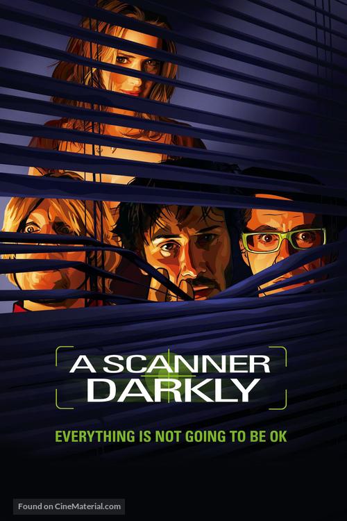 A Scanner Darkly - DVD cover