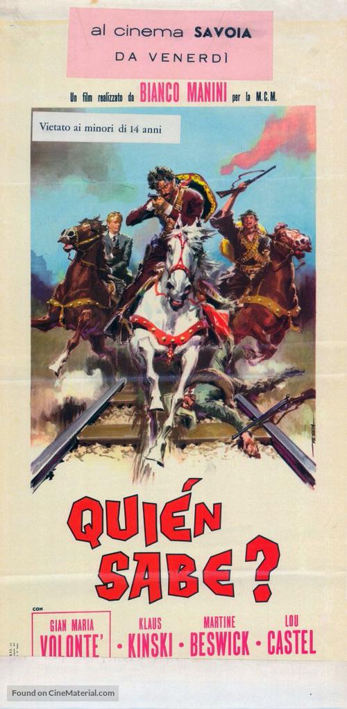 Quién sabe? - Italian Movie Poster