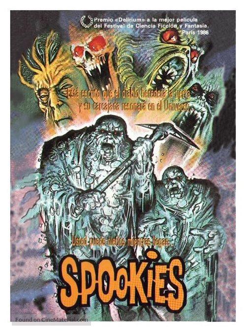 Spookies - British Movie Cover