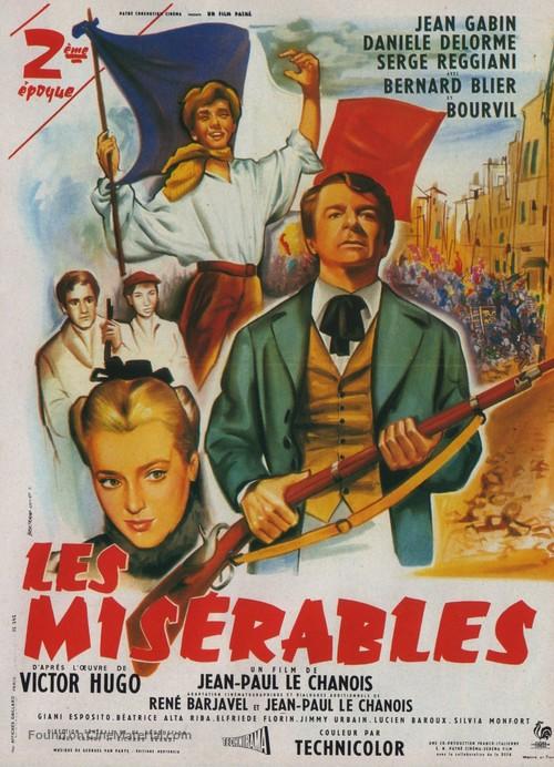 Les Misérables - French Movie Poster