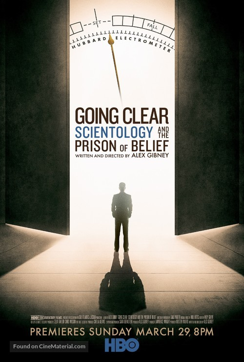 Going Clear: Scientology and the Prison of Belief - Movie Poster