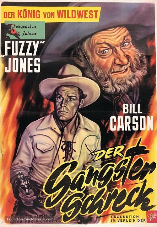 Fighting Bill Carson - German Movie Poster