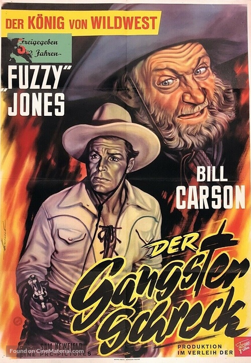 Fighting Bill Carson - German Movie Poster