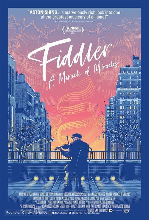 Fiddler: A Miracle of Miracles - Movie Poster