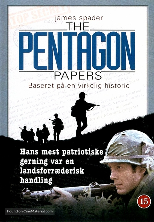 The Pentagon Papers - Danish Movie Cover