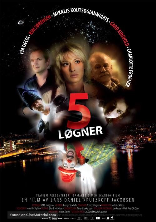 5 løgner - Norwegian poster