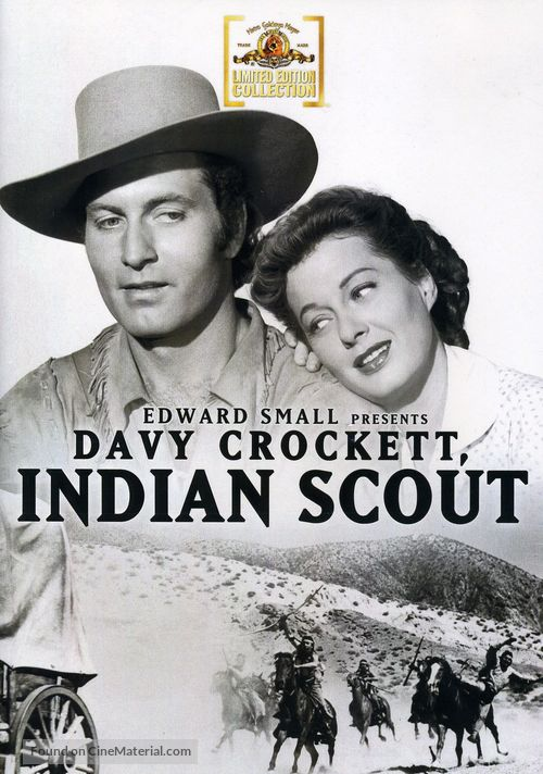 Davy Crockett, Indian Scout (1950) dvd movie cover
