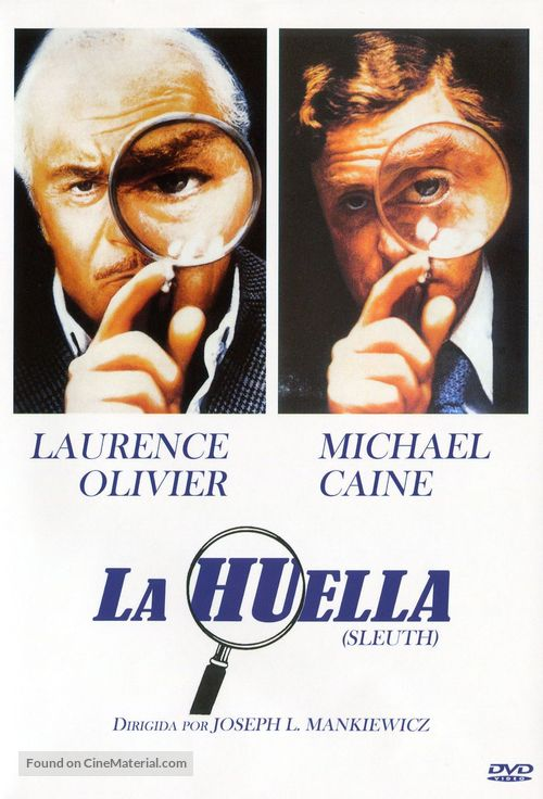 Sleuth - Spanish DVD cover