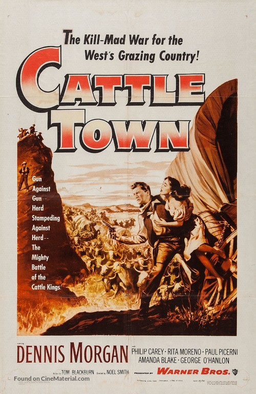 Cattle Town - Movie Poster
