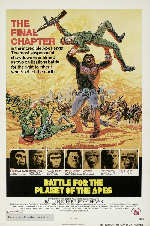 Battle for the Planet of the Apes - Movie Poster