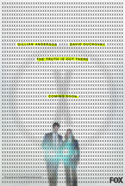 """""""The X Files"""" - Movie Poster"""