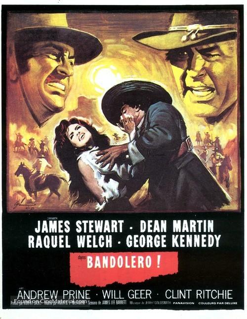 Bandolero! - French Movie Poster