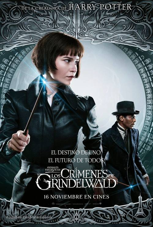 Fantastic Beasts: The Crimes of Grindelwald - Spanish Movie Poster
