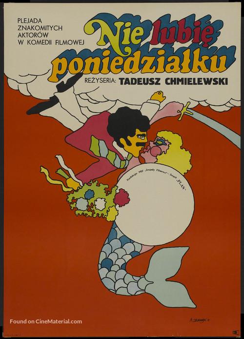 Nie lubie poniedzialku - Polish Movie Poster