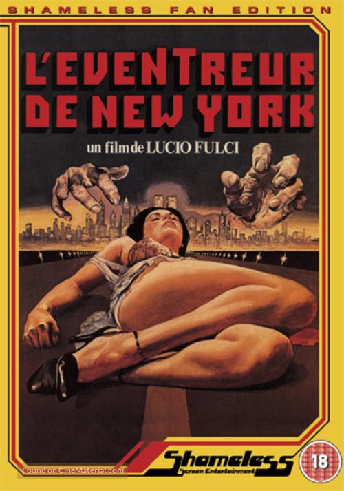 Lo squartatore di New York - British DVD movie cover