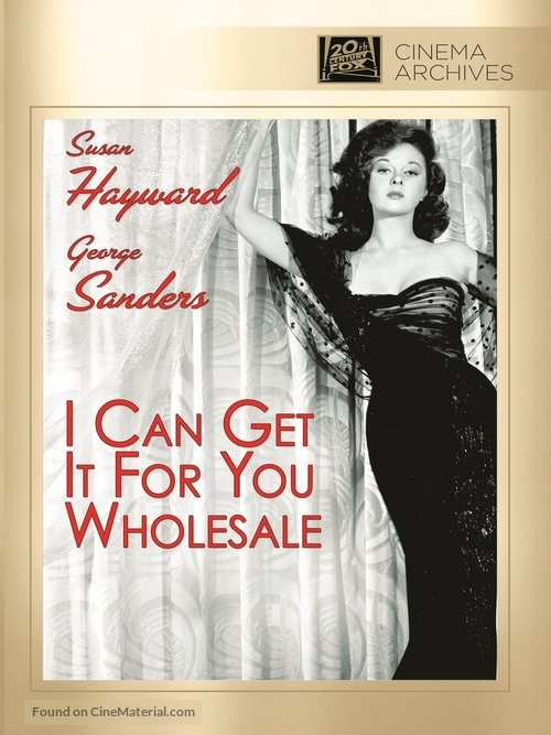 I Can Get It for You Wholesale - DVD movie cover