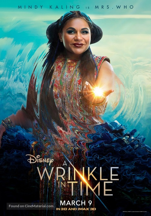 A Wrinkle in Time - Indian Movie Poster