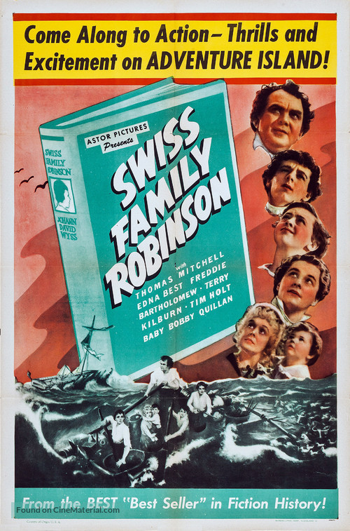 Swiss Family Robinson - Movie Poster