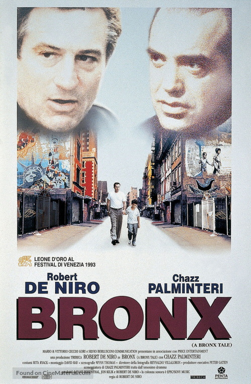 A Bronx Tale - Italian Theatrical movie poster