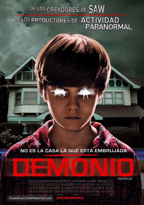 Insidious - Chilean Movie Poster