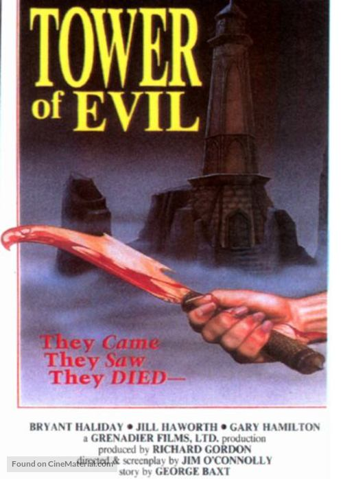 Tower of Evil - Movie Poster