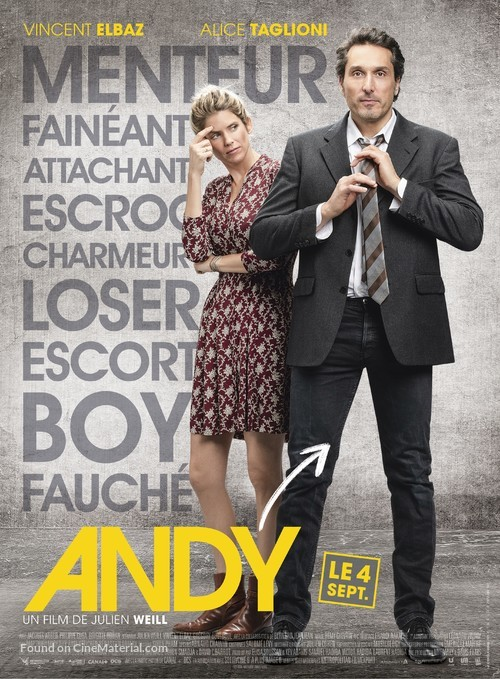Andy - French Movie Poster