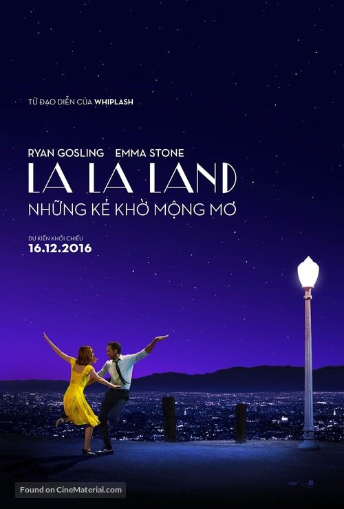 La La Land - Vietnamese Movie Poster
