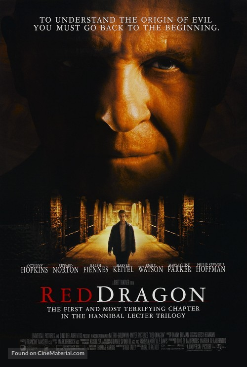 Red Dragon - Movie Poster