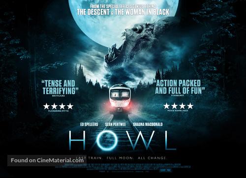 Howl - British Movie Poster