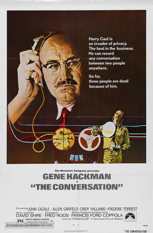 The Conversation - Movie Poster