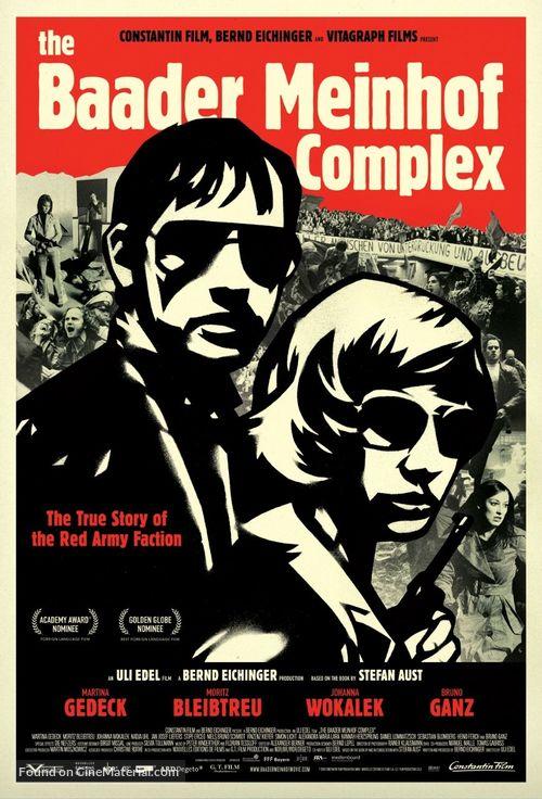 Der Baader Meinhof Komplex - Movie Poster
