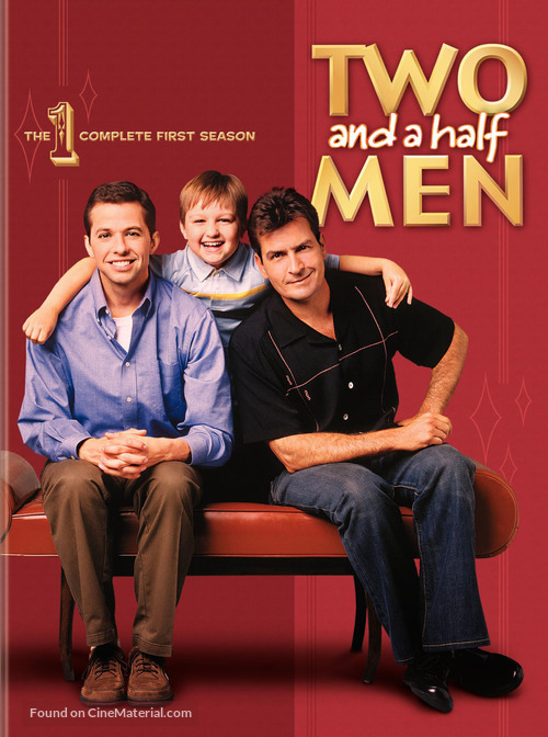 """Two and a Half Men"" - DVD movie cover"