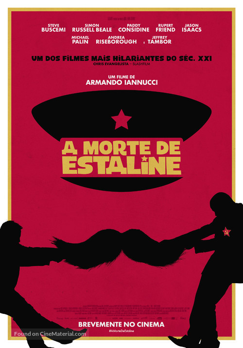 The Death of Stalin - Portuguese Movie Poster