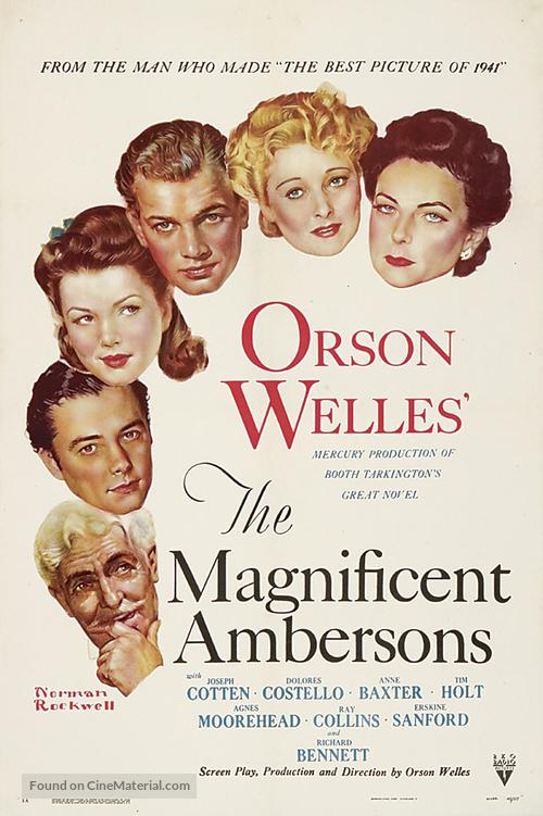 The Magnificent Ambersons - Movie Poster