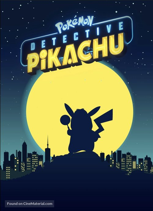 Pokémon: Detective Pikachu - Movie Cover