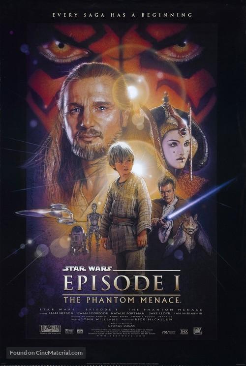 Star Wars: Episode I - The Phantom Menace - Movie Poster