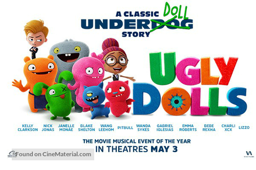 UglyDolls - Canadian Movie Poster