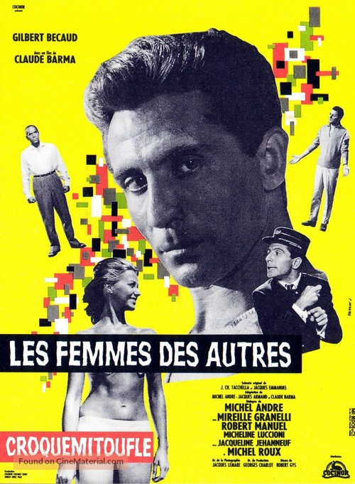 Croquemitoufle - French Movie Poster