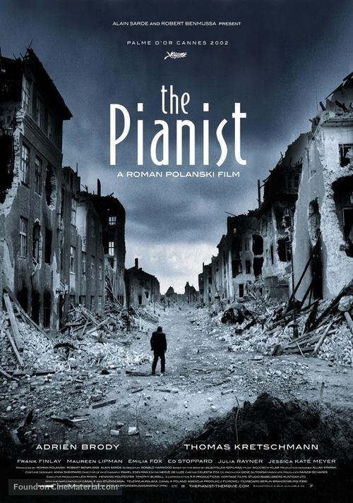The Pianist - Movie Poster