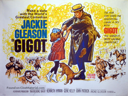 Gigot - British Movie Poster