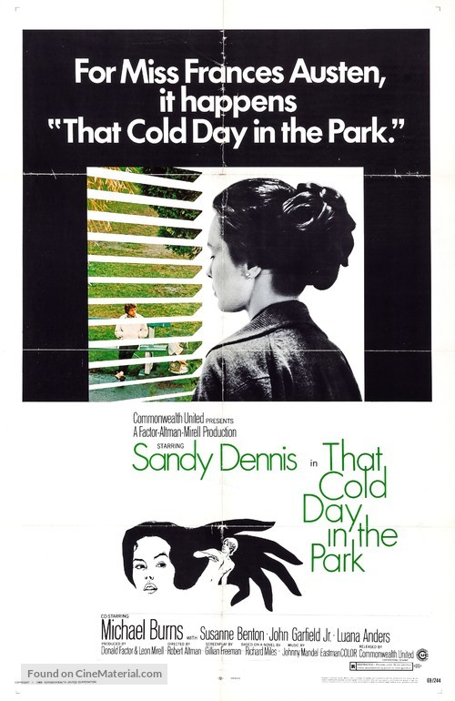 That Cold Day in the Park - Movie Poster