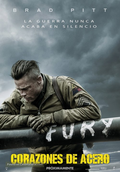Fury - Spanish Movie Poster